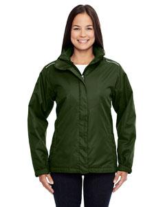 Forest Gren 630 Ladies' Region 3-in-1 Jacket with Fleece Liner