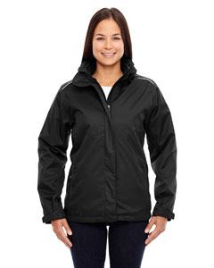 Black 703 Ladies' Region 3-in-1 Jacket with Fleece Liner