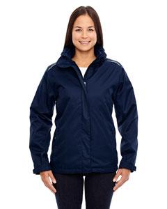 Classic Navy 849 Ladies' Region 3-in-1 Jacket with Fleece Liner