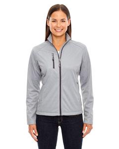 Platinum 837 Ladies' Trace Printed Fleece Jacket