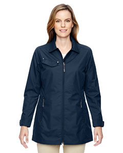 Navy 007 Ladies' Excursion Ambassador Lightweight Jacket with Fold Down Collar