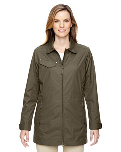 Dk Oakmoss 487 Ladies' Excursion Ambassador Lightweight Jacket with Fold Down Collar