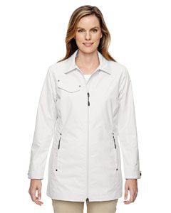 Cryst Qrtz 695 Ladies' Excursion Ambassador Lightweight Jacket with Fold Down Collar