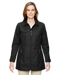 Black 703 Ladies' Excursion Ambassador Lightweight Jacket with Fold Down Collar