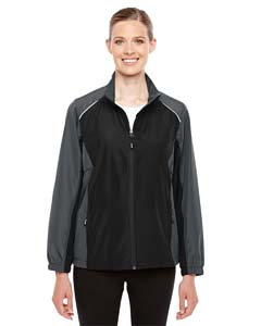 Black/ Crbn 703 Stratus Colorblock Lightweight Jacket