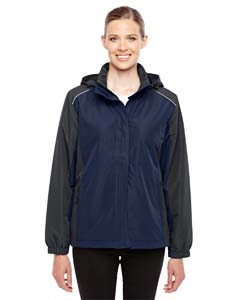 Cl Nvy/ Crbn 849 Ladies' Inspire Colorblock All-Season Jacket