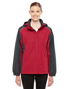 Cl Red/ Crbn 850 Ladies' Inspire Colorblock All-Season Jacket