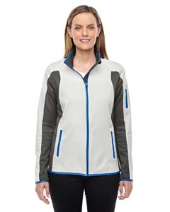 Cry Qrt/ Dgr 695 Ladies' Motion Interactive ColorBlock Performance Fleece Jacket