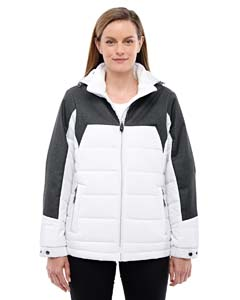 Cry Qrt/d Gr 695 Ladies' Excursion Meridian Insulated Jacket with Melange Print