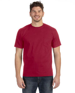 Independence Red Heavyweight Ringspun Pocket T-Shirt
