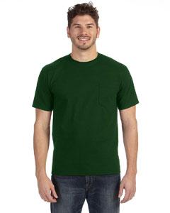 Forest Green Heavyweight Ringspun Pocket T-Shirt