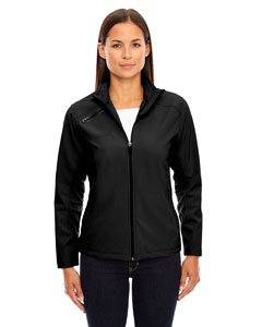 Black 703 Ladies' Three-Layer Light Bonded Soft Shell Jacket