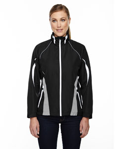 Black 703 Ladies' Impact Active Lite Colorblock Jacket