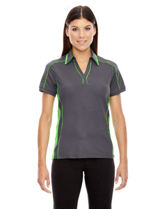 Bk Slk/ad Gn 440 Ladies' Sonic Performance Polyester Piqué Polo