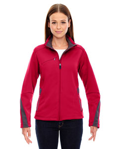 Olympic Red 665 Ladies' Escape Bonded Fleece Jacket