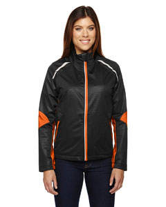 Black/ Mdrn 454 Ladies' Dynamo Three-Layer Lightweight Bonded Performance Hybrid Jacket