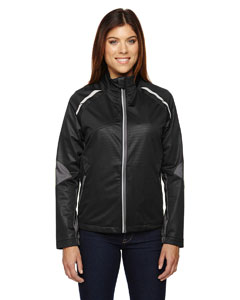 Black 703 Ladies' Dynamo Three-Layer Lightweight Bonded Performance Hybrid Jacket
