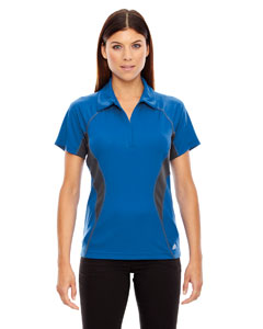 Olympic Blue 447 Ladies' Serac UTK cool.logik™ Performance Zippered Polo