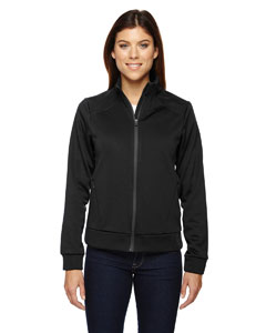 Black 703 Ladies' Evoke Bonded Fleece Jacket