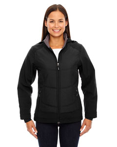 Black 703 Ladies' Neo Insulated Hybrid Soft Shell Jacket