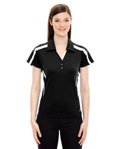 Black 703 Ladies' Accelerate UTK cool.logik™ Performance Polo