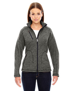 Hthr Chrcl 745 Ladies' Peak Sweater Fleece Jacket