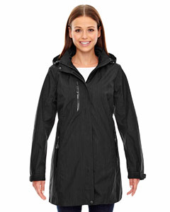 Black 703 Ladies' Metropolitan Lightweight City Length Jacket