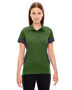 Fern 657 Ladies' Refresh UTK cool.logik™ Coffee Performance Mélange Jersey Polo
