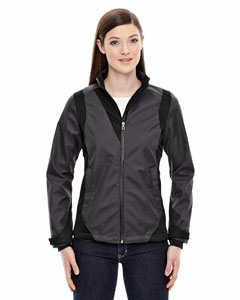 Carbon 456 Ladies' Commute Three-Layer Light Bonded Two-Tone Soft Shell Jacket with Heat Reflect Technology
