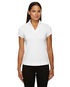 White 701 Ladies' Weekend Cotton Blend UTK cool.logik™ Performance Polo