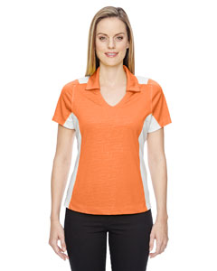 Orange Soda 476 Ladies' Reflex UTK cool.logik™ Performance Embossed Print Polo
