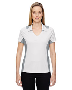 Crystl Qrtz 695 Ladies' Reflex UTK cool.logik™ Performance Embossed Print Polo