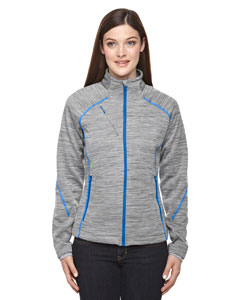 Platinum 837 Ladies' Flux Mélange Bonded Fleece Jacket