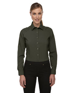 Oakmoss 462 Ladies' Rejuvenate Performance Shirt with Roll-Up Sleeves