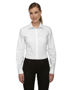 White 701 Ladies' Rejuvenate Performance Shirt with Roll-Up Sleeves