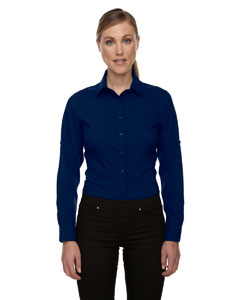 Night 846 Ladies' Rejuvenate Performance Shirt with Roll-Up Sleeves