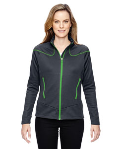Crbn/ Acd Gr 472 Ladies' Interactive Cadence Two-Tone Brush Back Jacket