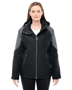 Blck/ Carbon 703 Ladies' Impulse Interactive Seam-Sealed Shell