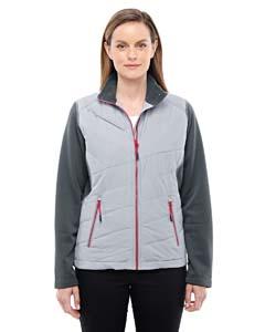 Pltnm/ Crbn 837 Ladies' Quantum Interactive Hybrid Insulated Jacket