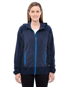 Nght/ Ol Blu 846 Ladies' Vortex Polartec Active Fleece Jacket