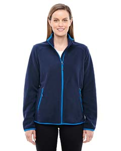 Nght/ Ol Blu 846 Ladies' Vector Interactive Polartec Fleece Jacket