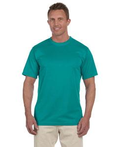Teal 100% Polyester Moisture-Wicking Short-Sleeve T-Shirt