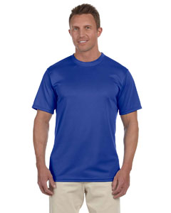Royal 100% Polyester Moisture-Wicking Short-Sleeve T-Shirt