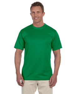 Kelly 100% Polyester Moisture-Wicking Short-Sleeve T-Shirt