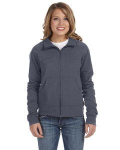 Deep Heather Women's Cotton/Spandex Cadet Jacket