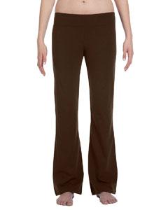 Chocolate Women's Cotton/Spandex Fitness Pant