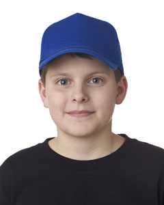 Royal Youth Classic Cut Cotton Twill 5-Panel Cap