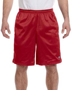 Scarlet 3.7 oz. Long Mesh Shorts with Pockets