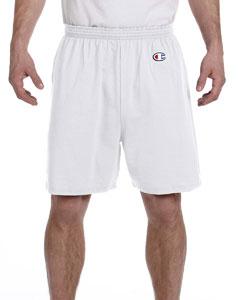 Silver Gray 6.1 oz. Cotton Jersey Shorts