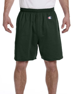Dark Green 6.1 oz. Cotton Jersey Shorts
